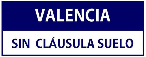 Valencia sin Cláusula Suelo